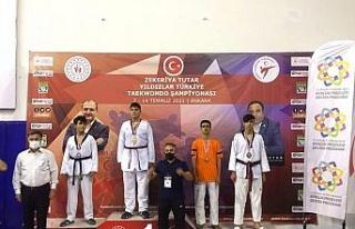 Türkiye Taekwondo Şampiyonasında Elazığlı sporcu...