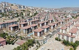 Deprem sonrası Elazığ'da 24 bin 83 konut inşa...