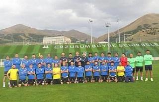 Elazığ Karakoçan'da Erzurum kampı bitti