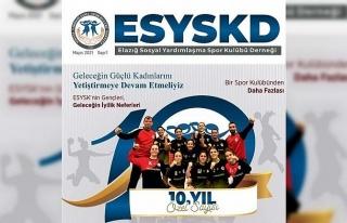 Elazığ SYSK'dan 10. yıl dergisi