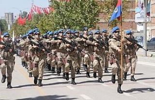 Elazığ'da 30 Ağustos Zafer Bayramı coşkuyla...
