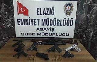 Elazığ'da aranan 94 şüpheli yakalandı, 19'u...
