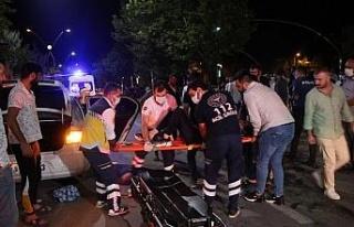 Elazığ'da trafik kazası: 1'i ağır 2 yaralı