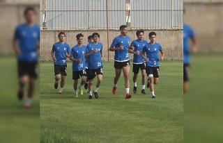 Elazığspor, Bergama Belediyespor maçı hazırlıklarına...