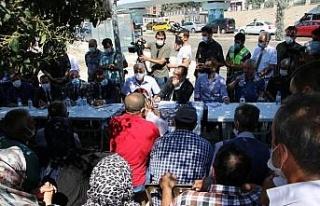 Vali Yırık, Mustafapaşa Mahallesi'nde hak sahipleri...