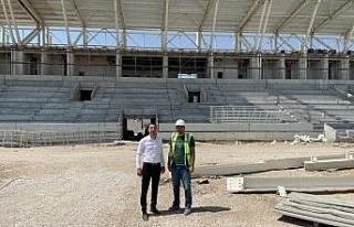 Yeni Elazığ Stadyumu yıl sonunda hazır