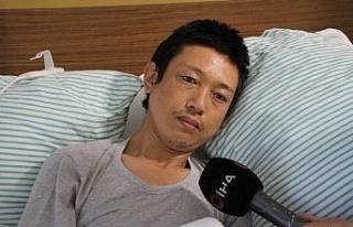 12 yıl önce dünya turuna çıkan Japon turist Elazığ'da...