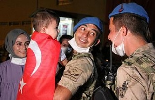 Afrin'den dönen kahraman JÖH'çüler vatanlarına...