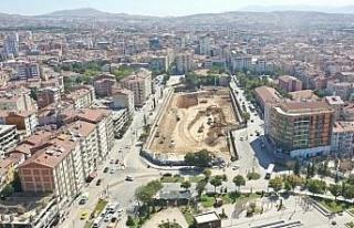 Elazığ'da Kent Meydanı Yer Altı Otoparkı ve...