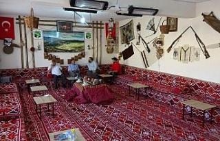 Köylüler atıl durumdaki okulu onararak müzeye...
