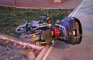 Elazığ'da otomobil motosiklete çarptı: 1 yaralı