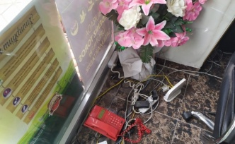 Hırsızlar et ve tulum peyniri çaldı, yakalanmamak için kayıt cihazını da götürdü