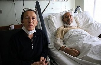 Ana arter damarı yüzde yüz tıkanan hasta, şifayı bin 200 kilometre uzakta Elazığ'da buldu