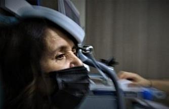 Manyetik uyarım cihazı ile psikiyatrik tedavi