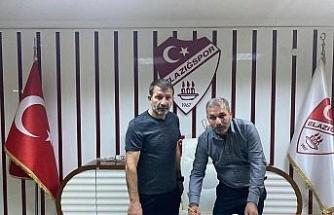 Elazığspor'da Cafer Aydın dönemi resmen başladı