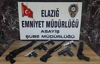 Elazığ'da asayiş ve şok uygulamalarında 103 şüpheli yakalandı
