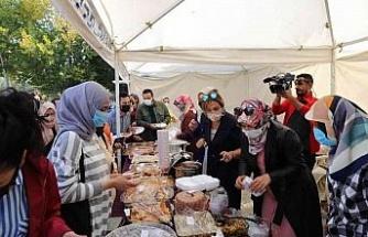 Elazığ'da Fırat Üniversitesi Kadın Kolları tarafından hayır çadırı açıldı
