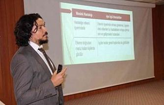FÜ Hastanesi çalışanlarına meslek hastalıkları semineri