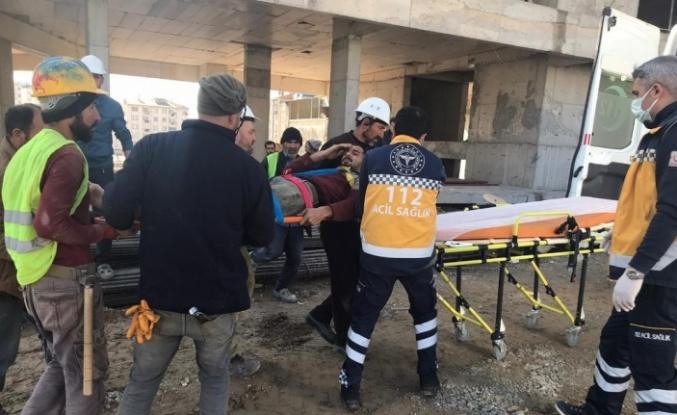 Elazığ'da iş kazası: 1 yaralı