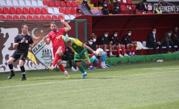 3. Lig: Elazığ Karakoçan: 0 - Esenler Erokspor: 0