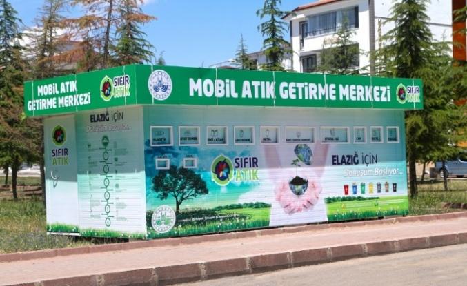 Elazığ'da mobil atık merkezleriyle çevre korunacak, ekonomiye katkı sağlanacak