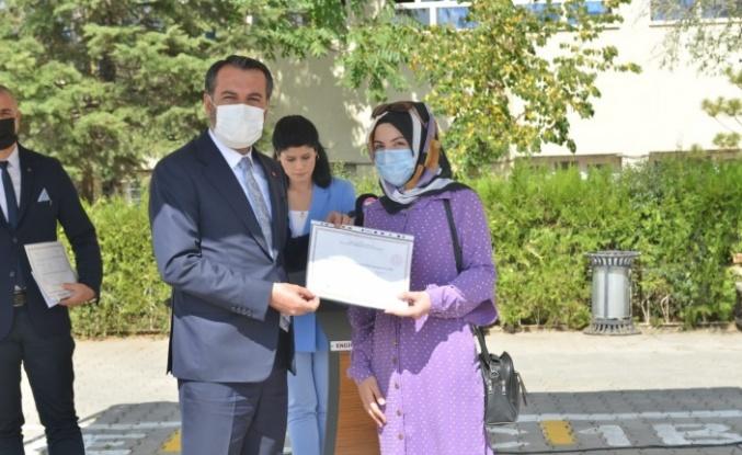 Elazığ'da İlköğretim Haftası etkinliği