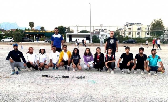 Elazığ'dan 4 sporcu Bocce Milli Takım seçmelerine katılacak